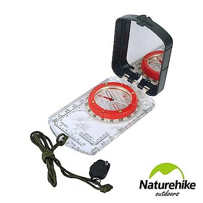 Naturehike 多功能夜光帶燈指南針 指北針 地質羅盤儀 2入組