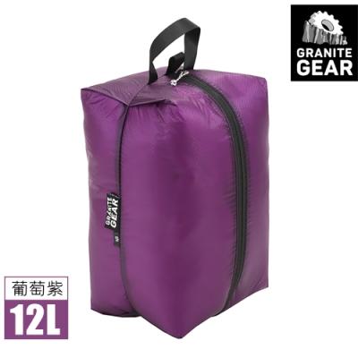 Granite Gear 182308 Air ZippSack 拉鍊式立體收納袋 (12L) / 葡萄紫