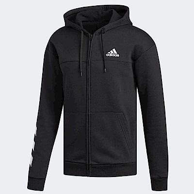 adidas 連帽外套 Sport Hoodie 運動休閒 男款