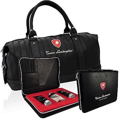 Lamborghini 藍寶堅尼戰神覺醒男性淡香水商務經理夾組-贈同品牌旅行袋