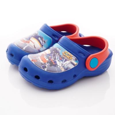 SUPER WINGS 超輕量護趾涼鞋款 NI3904藍(中小童段)