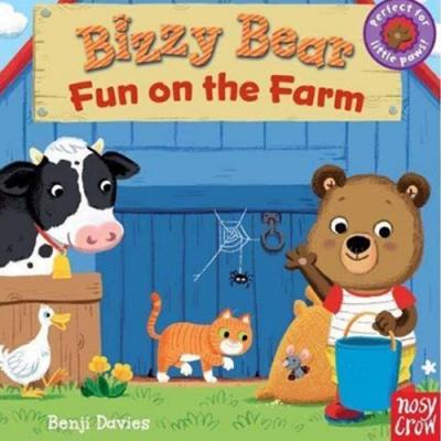Bizzy Bear:Fun On The Farm 農場熊熊新奇操作書(美國版)