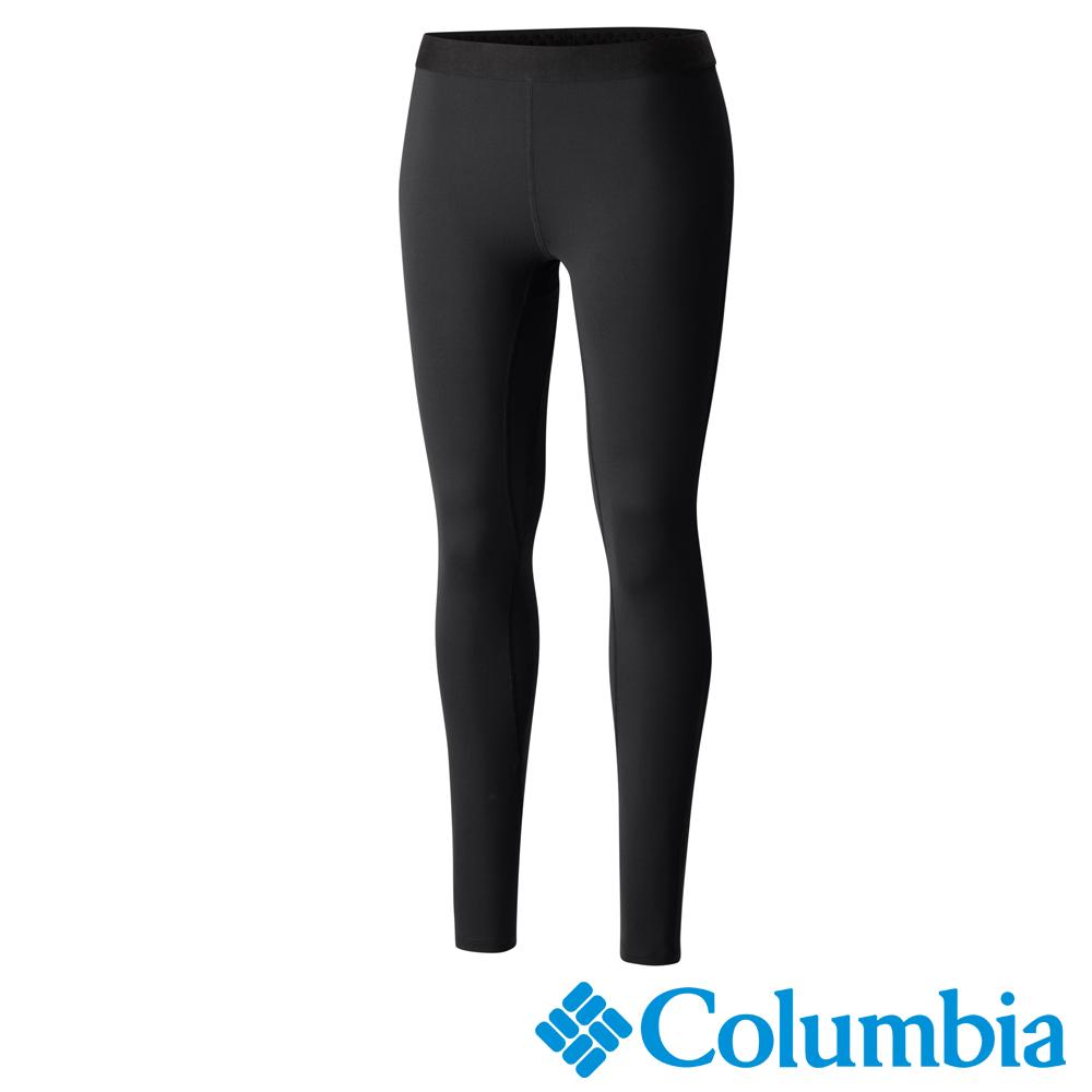 Columbia哥倫比亞 女款-Omni-HEAT保暖快排長褲-黑色