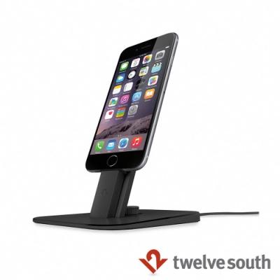 Twelve South HiRise Deluxe iPhone 充電立架 - 黑色