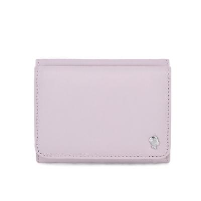 PORTER - 輕甜繽紛SPIRIT多功能皮夾 - 藕粉紫(銀)