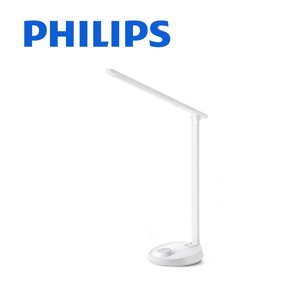 【飛利浦 LIGHTING】LeverPlus 朗恒LED檯燈 66048 (白)
