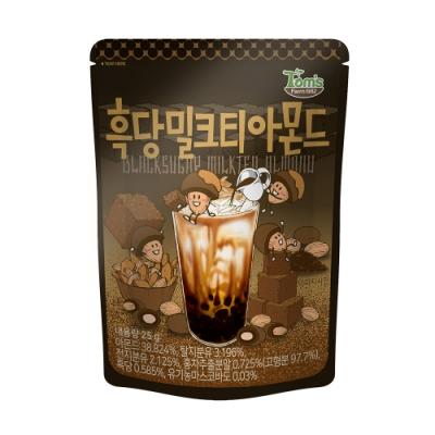 韓國Toms Gilim 杏仁果-黑糖奶茶味(25g)