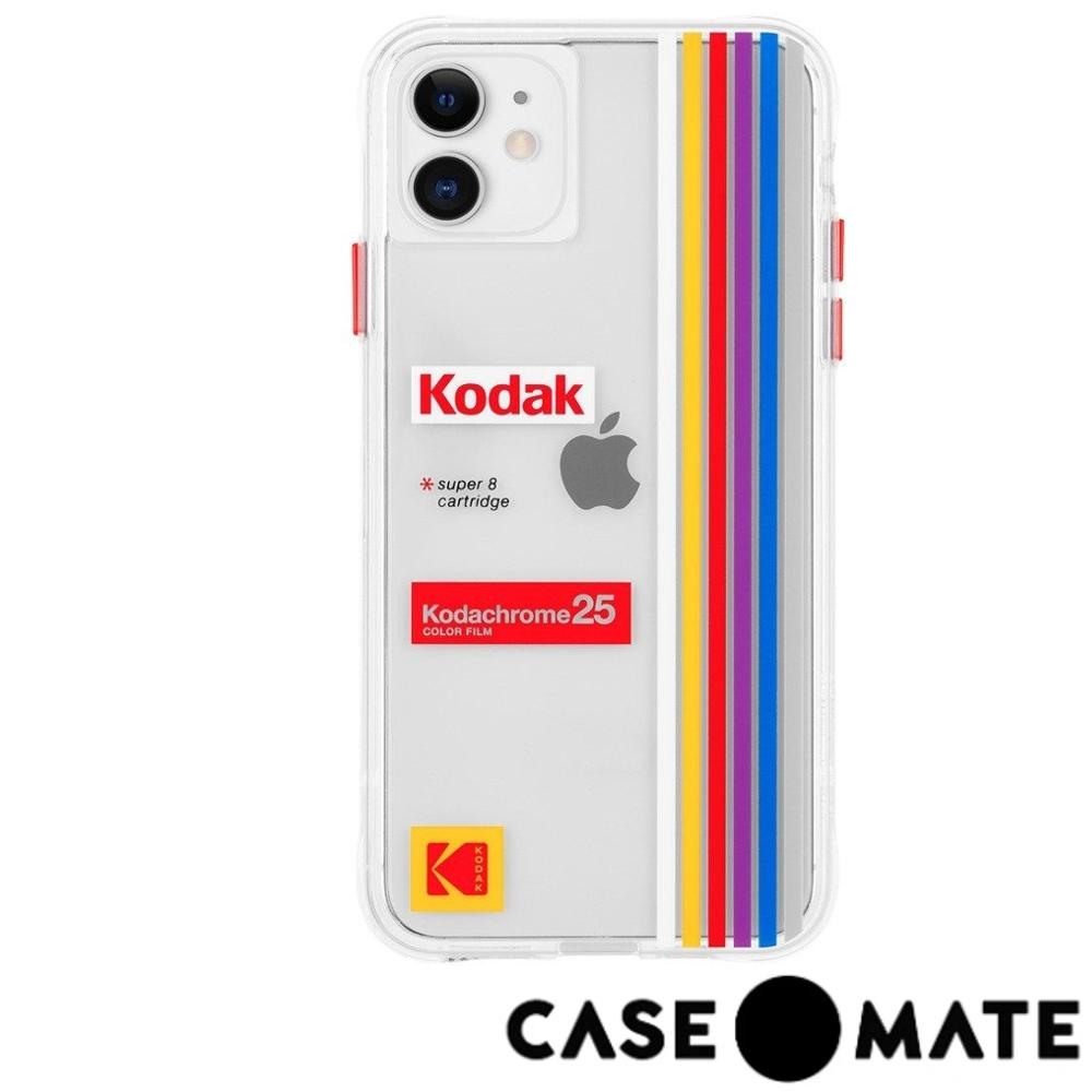 美國 Case-Mate iPhone 11 柯達聯名款防摔殼 - 透明