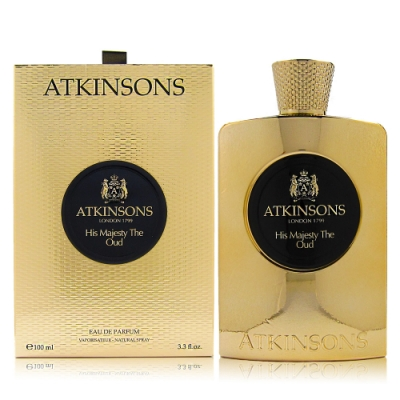 ATKINSONS HIS MAJESTY THE OUD他的皇室沈香EDP 100ML贈同品牌針管
