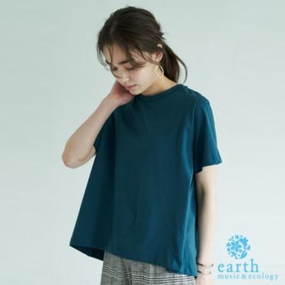 earth music 有機棉素面短袖T恤