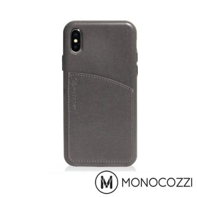 MONOCOZZI Posh 系列 iPhone X 皮革背蓋