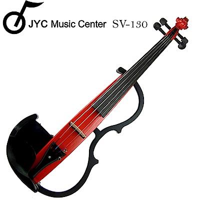 JYC SV-130靜音提琴-紅色