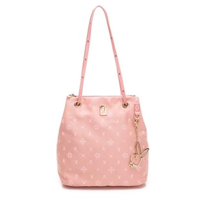 PLAYBOY-  肩背包 Floral花漾系列 -粉膚色