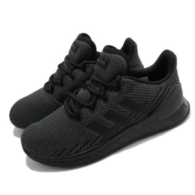 adidas 慢跑鞋 Questar Flow NXT 男鞋 愛迪達 三線 緩震 路跑 穿搭 黑 灰 FY9559