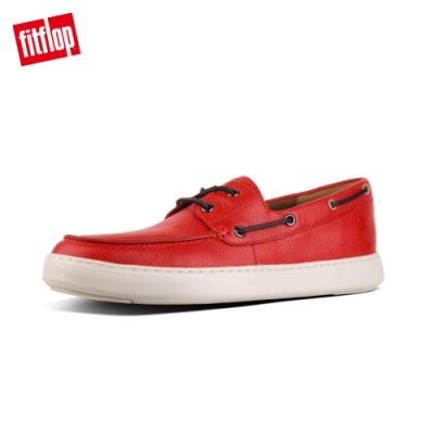 FitFlop LAWRENCE 輕量繫帶休閒鞋(紅褐色)