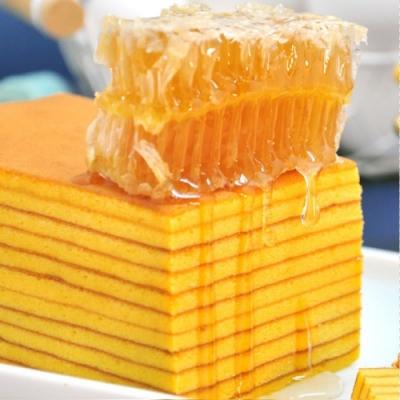 聖保羅烘焙廚房 特濃布丁捲1入+貴族蜂蜜千層1入