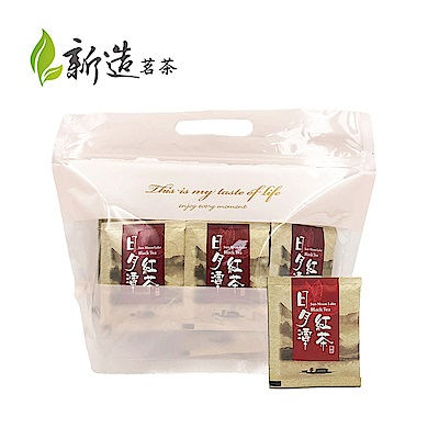 【新造茗茶】精選日月潭阿薩姆紅茶極品袋茶包(40入/袋)