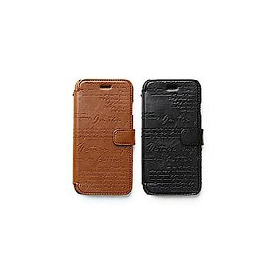 ZENUS Apple iPhone6/6s 4.7吋 復古刻紋 書本式皮套