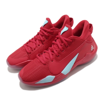 Nike 籃球鞋 Freak 2 GS 運動 女鞋 避震 包覆 明星款 字母哥 大童 紅 藍 CN8574605