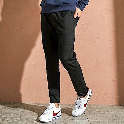 CACO-彈性針織牛仔褲-(兩色)-男【QAR059】