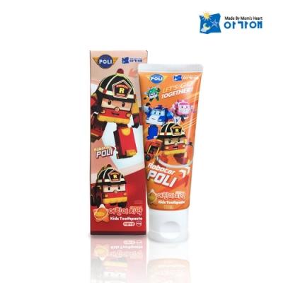 POLI波力-兒童牙膏橘子口味-3歲以上(80g)