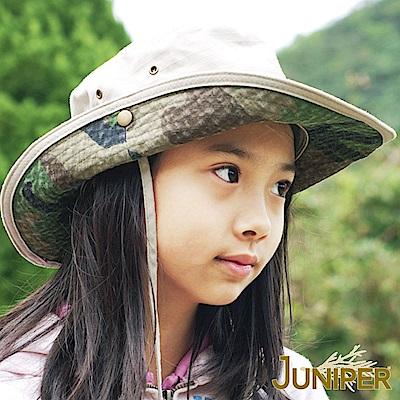 JUNIPER 全棉抗UV紫外線防潑水叢林漁夫遮陽童帽