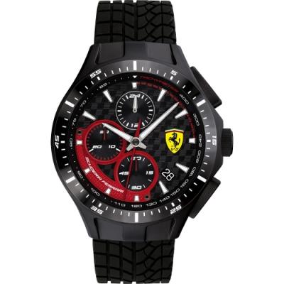 Scuderia Ferrari 法拉利 賽車急速計時手錶(FA0830696)-44mm