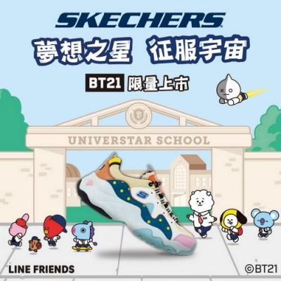 SKECHERS 女休閒系列 D LITES 3.0 - BT21 限定款 - 13386MULT
