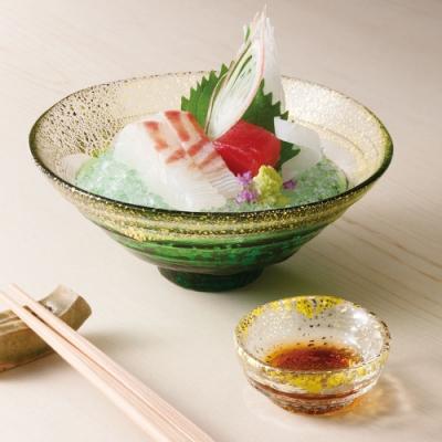 日本TOYO-SASAKI 手作金鉑缽-綠色