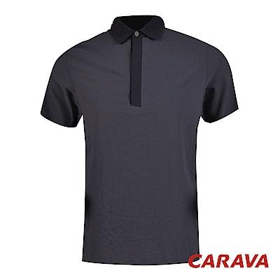 CARAVA《男款氣冷式涼爽POLO衫》(暗夜藍)