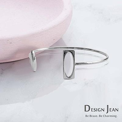 Design Jean 就是一對不鏽鋼抗敏手環(SAN0024-1)