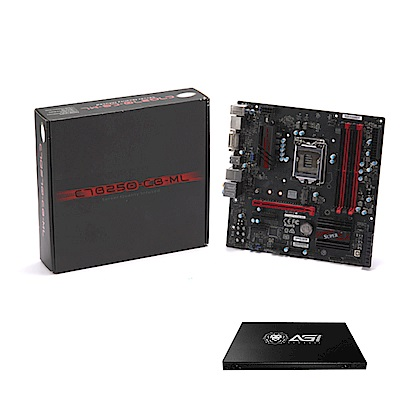 SUPERMICRO主機板C7B250-CB-ML+120G固態硬碟