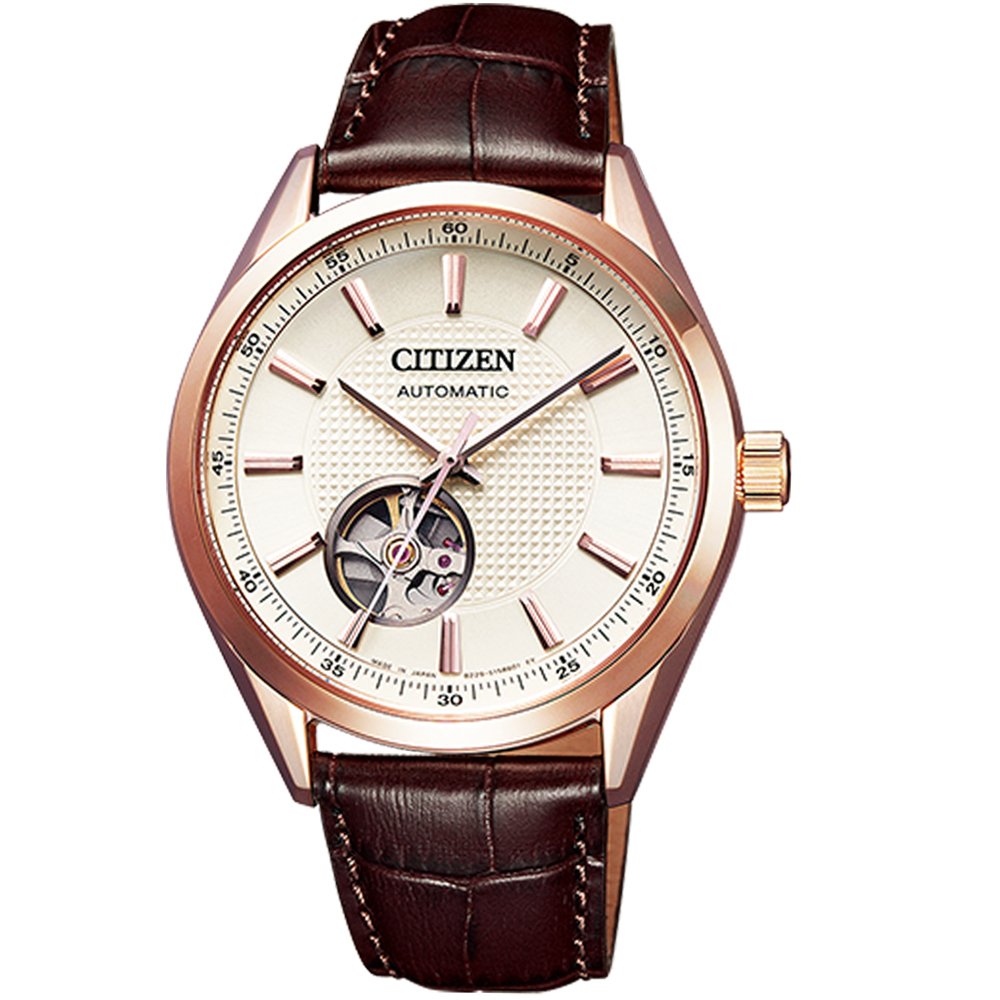 CITIZEN 紳士時尚機械錶(NH9110-14A)40mm @ Y!購物