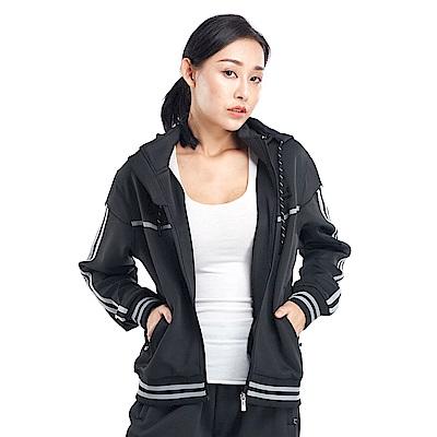 【ZEPRO】女子復古滾邊休閒外套-黑色