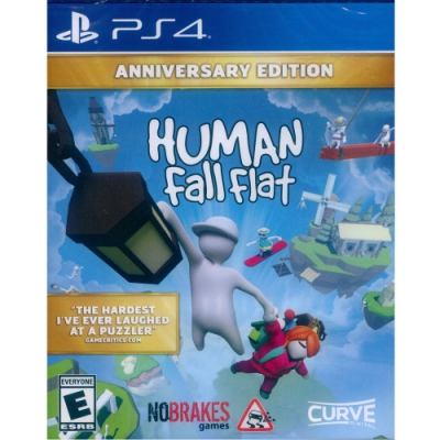 人類 : 跌落夢境 周年紀念版 Human: Fall Flat Anniversary Edition - PS4 中英文美版