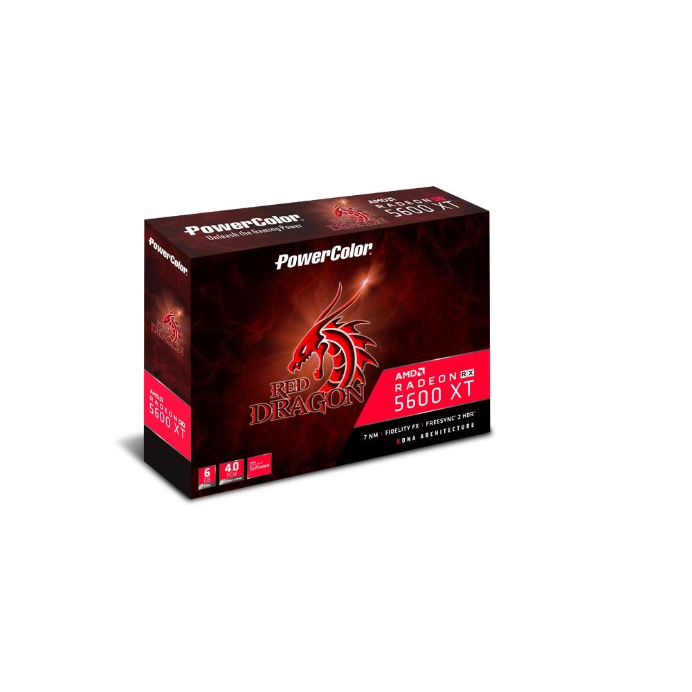 撼訊RX 5600 XT Red Dragon OC 6GB GDDR6 192bit 顯示卡