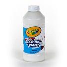 美國Crayola 繪兒樂 可水洗兒童顏料16OZ白色(3Y+)