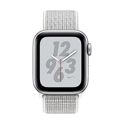 Apple Watch Nike+ S4(GPS)40mm 銀色鋁金屬錶殼+白色錶環
