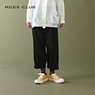 【MOSS CLUB】休閒舒適-長褲(咖啡色)