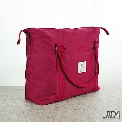 【暢貨出清】JIDA 簡約質感大容量旅行手提/拉桿收納包(4色)