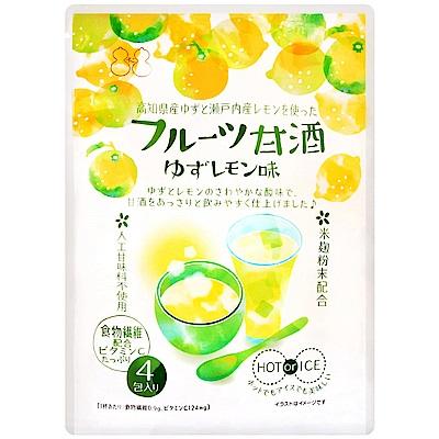 不二食品 甘酒沖泡即品包-柚子風味(60g)