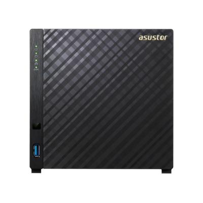 【促銷組合】華芸 AS1004T v2 網路儲存伺服器+WD 紅標 2TB*2