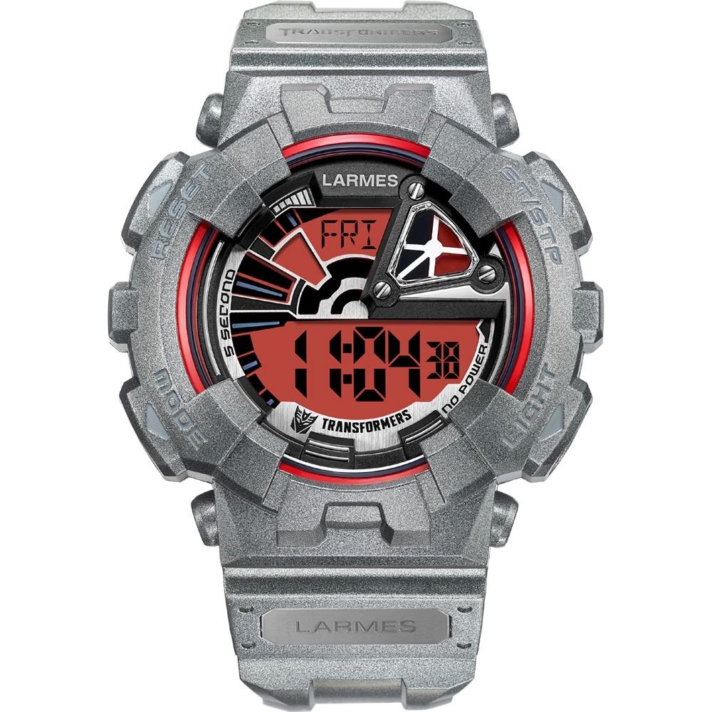 Transformers 變形金剛 聯名限量玩色潮流腕錶 (密卡登)LM-TF002.MT43G.411.3GM