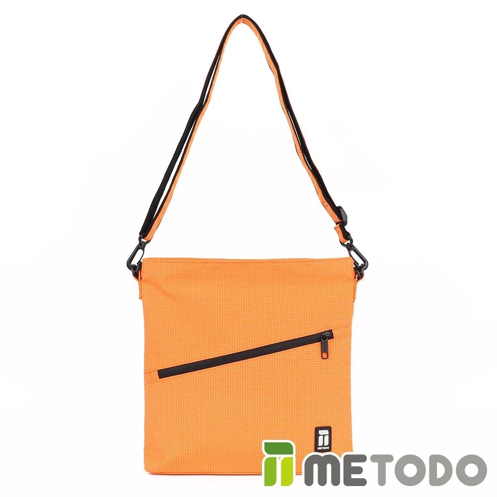 【METODO防盜包】Shoulder Bag 不怕割斜背包/肩包/方包TSL-204俏皮橘/休閒旅遊包