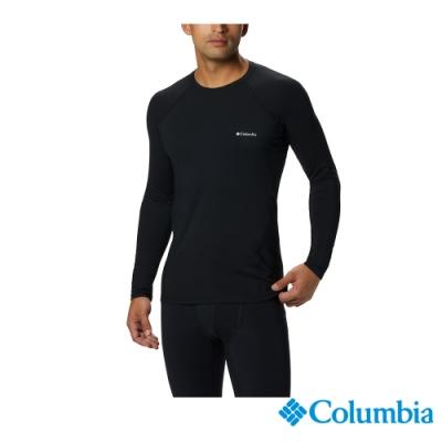 Columbia 哥倫比亞 男款- Omni-HEAT保暖快排內著上衣-黑色