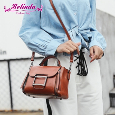 【Belinda】瑞卡達手提側背包(棕色)