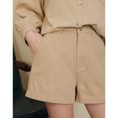 Shester55-斜紋貼袋短褲(四色)-女【B2SH008】