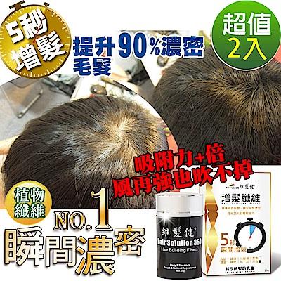 A+ 維髮健 增髮纖維 黃金特式版(纖維25g)X2
