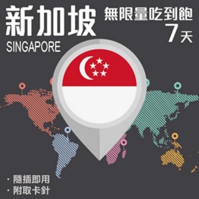 【PEKO】新加坡上網卡 7日高速4G上網 無限量吃到飽 優良品質
