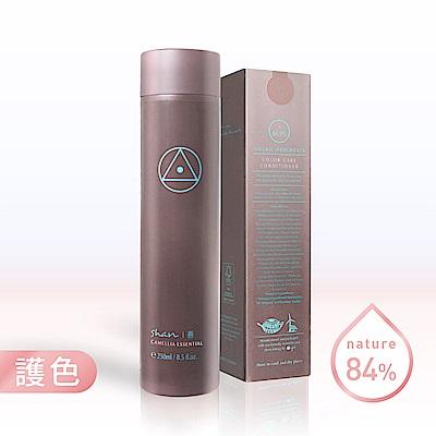 shan善  茶花萃護色潤髮乳250ml